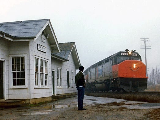 NorthboundSilver Star, 1977. This image shows the