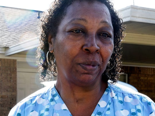 Virginia Harris talks about Jaylen Thomas.