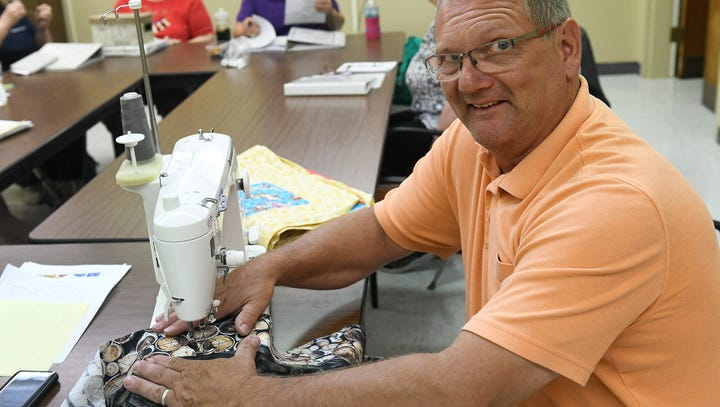 Handmade: Quilter gets creative to make room for hobby