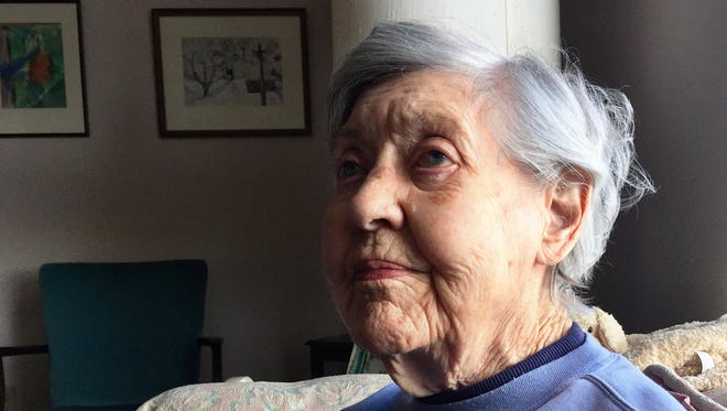 Helen Wilson, 103, reflects on a short teaching career that included time at Fort Shaw. She spent most of her working life doing office work for the government, including a wartime stint in Washington, D.C.