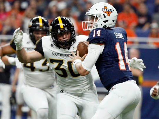 Southern Miss' Paxton Schrimsher enjoyed a breakout
