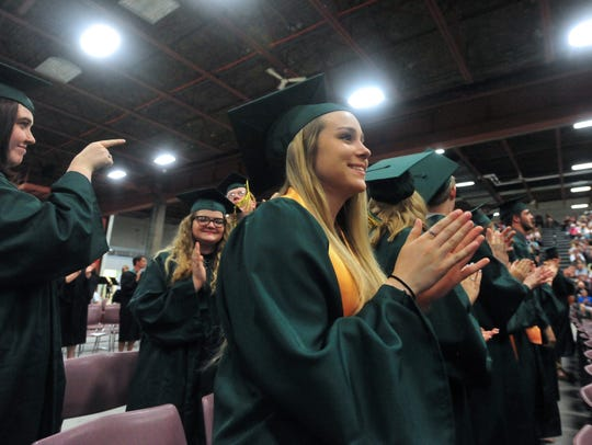 The C.M. Russell High School Class of 2018 commencement