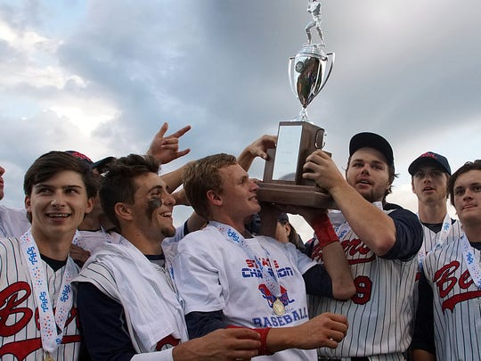 The BHP baseball team captured its second consecutive state championship in 2016.