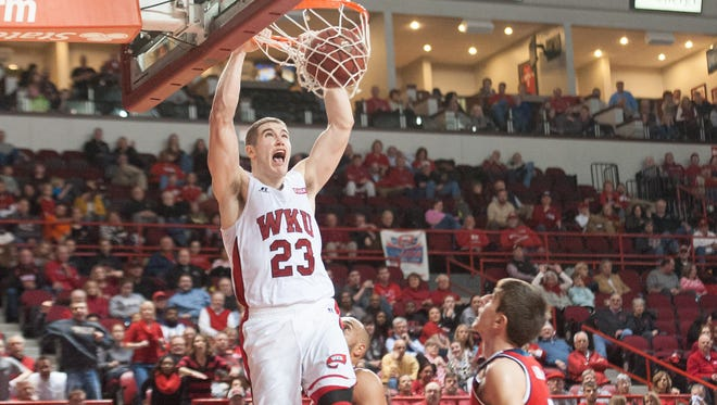 Western Kentucky forward Justin Johnson and the Hilltoppers have a pair of key nonconference games in the coming days.