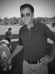Historic photo of golfer Boogie Coleman in Swanton. He won nearly 10 club championships in just at many years (1969-1979).