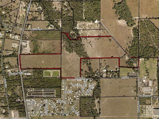 Gully Creek, a planned 330-unit development in rural