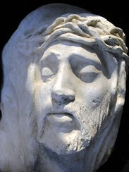 Jesus sculpture by Nanci Smith.
