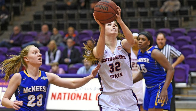 Cheyenne Brown scored 11 points for Northwestern State on Monday night.