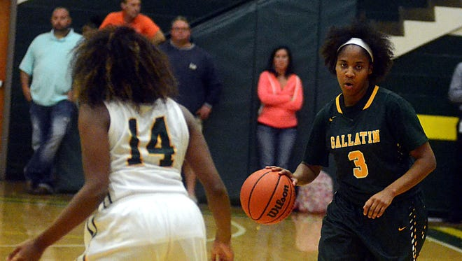 Gallatin High senior Rene' Hudson will likely start at point guard for the Lady Wave.