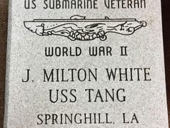 Submariner to be honored on Memorial Day