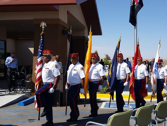 Las Cruces VA clinic grand opening 2