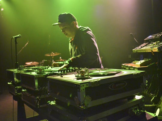 Deltron 3030 in concert at Vinyl Music Hall with Kid Koala, and Sincere Logic & A Band of Saints.