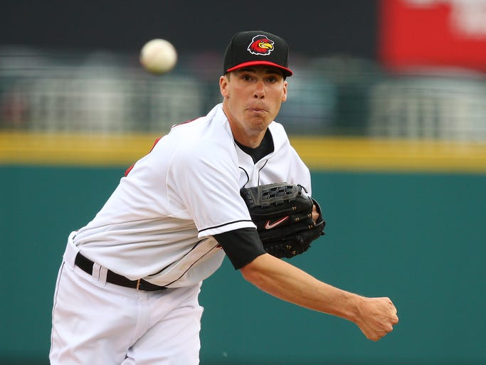 Red Wings starter Alex Meyer struggled and   was lifted after two innings against Lehigh Valley on Friday. The Iron Pigs defeated Rochester 3-0 at Frontier Field.