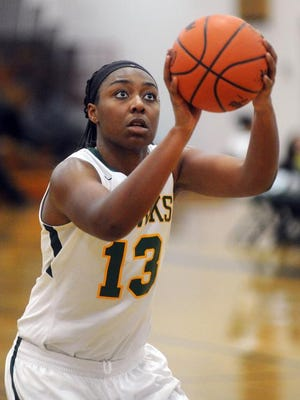 Senior center Kyla Roland had 12 points, 13 rebounds, five steals and three blocks for the 5-1 Hawks.
