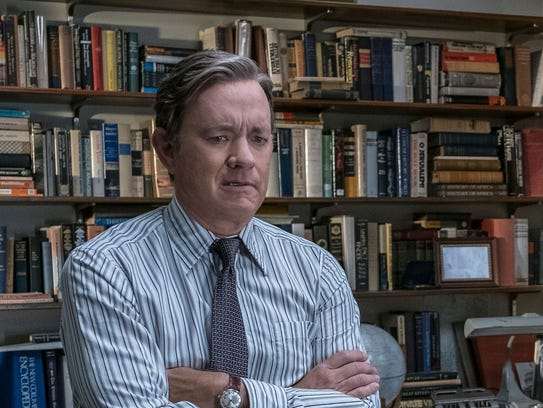 "Tom Hanks stars in ""The Post."""