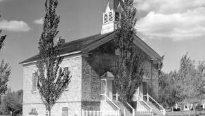 One day of the 2018 Sons of the Utah Pioneers National Encampment will be spent touring historical sites, including the Old Rock Church in Parowan.