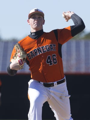 Barnegat's Jason Groome fired a no-hitter and struck out 19 Monday afternoon against Central Regional
