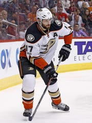 Livonia's Ryan Kesler has been a force on the penalty kill and has 18 goals and 38 points with the Ducks.