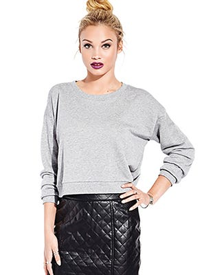 Iconic quilted miniskirt, $27.80, www.forever21.com.