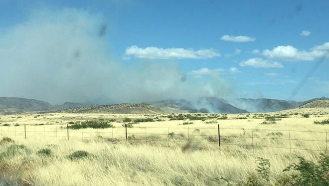 The human-caused Pinery Fire was first reported on  May 12, 2018, in Cochise County. The fire started on private land, moved onto the Chiricahua National Monument, and has since moved northward onto the Coronado National Forest.