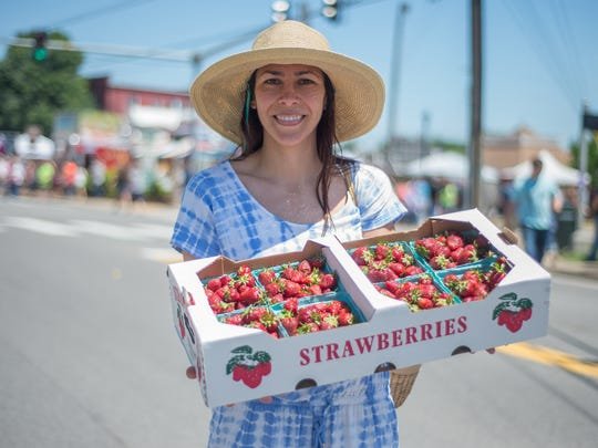 Enjoy locally-grown strawberries in Portland's Middle Tennessee Strawberry Festival May 12.