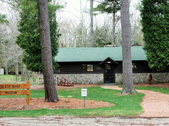 A view of the newly renovated Boy Scout cabin, home