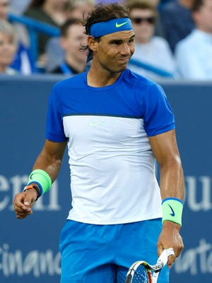 Rafael Nadal slipped to the No. 8 seed for the U.S. Open.