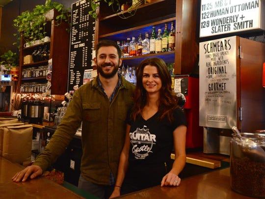 Alyssa and Evan Delgado, owners of GovCup since 2010.