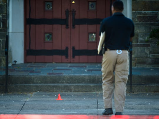 Montgomery Police investigate the shooting death of