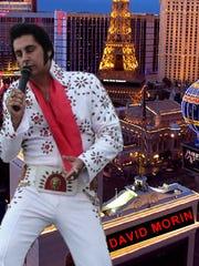 Elvis tribute artist David Morin