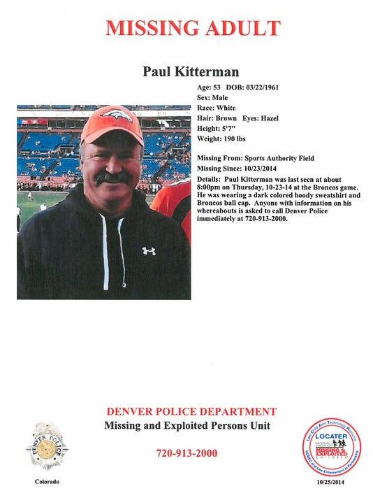 Colorado Missing Fan