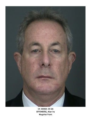 Alan Offenberg, who owns a real-estate tax reduction business in Armonk, was charged.