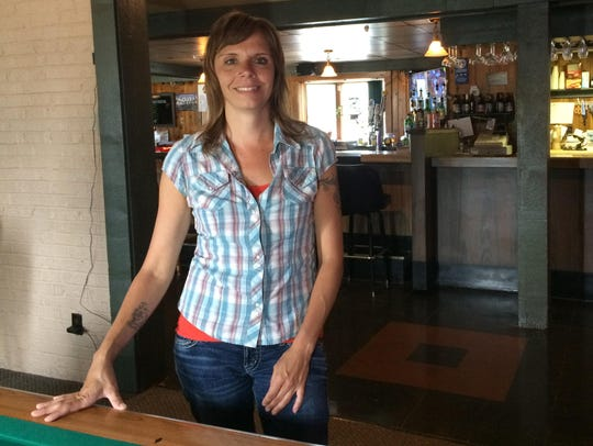 Layla Tracy, owner of Layla's Pub in Wisconsin Rapids,