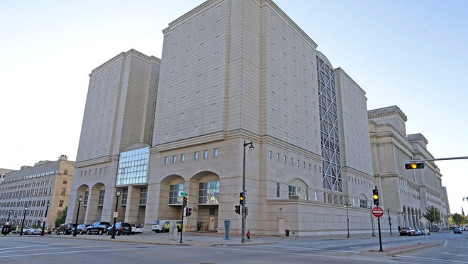The Milwaukee County Jail is located in downtown Milwaukee.
