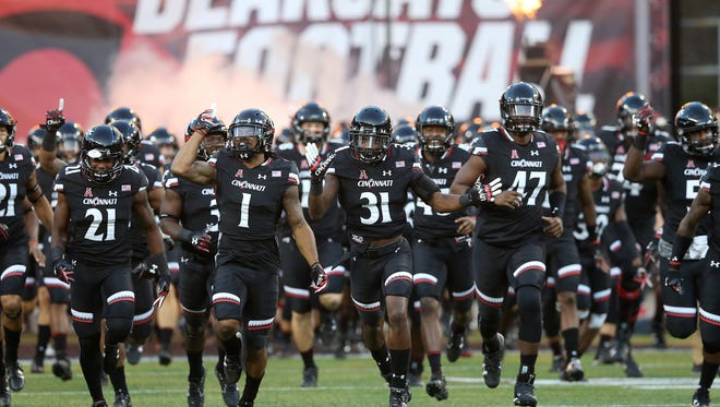 The Cincinnati Bearcats face another tough challenge Saturday at USF, the top-ranked team in the American Athletic Conference weekly football power rankings.