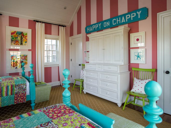 Kids' bedroom of the HGTV Dream Home 2015 located on