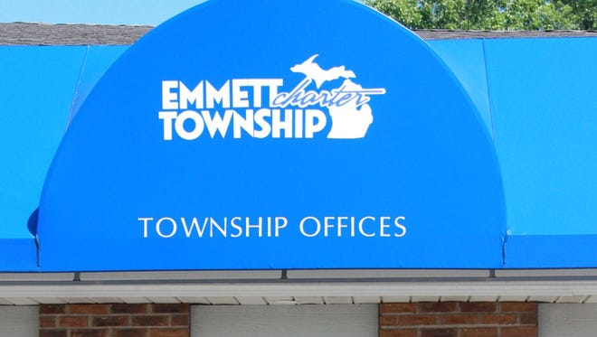 Emmett Township's offices at 621 Cliff Street outside of Battle Creek.