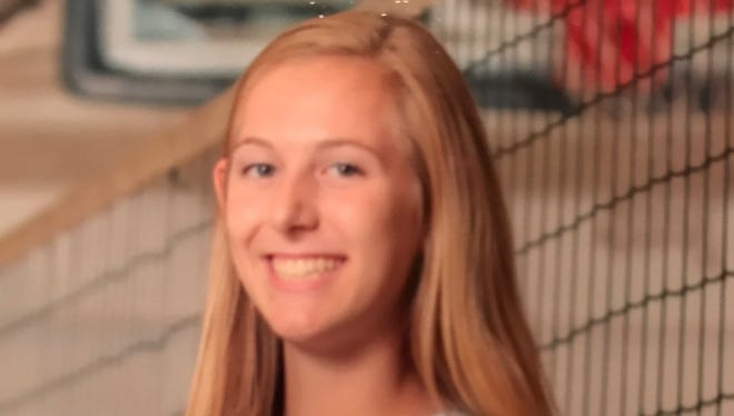 Roberson junior Abby Krueger has committed to play college volleyball for Wake Forest.