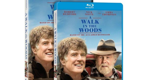 """""""A Walk in the Woods"""" is being released on Blu-ray and DVD Dec. 29."""