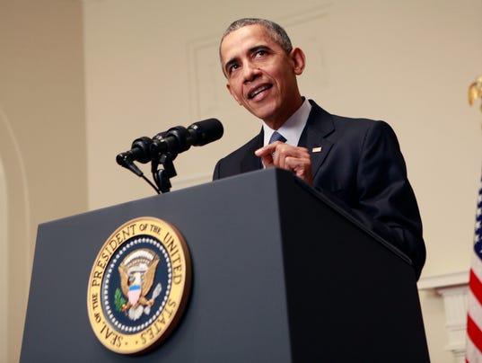 President Barack Obama Speaks On Paris Accord