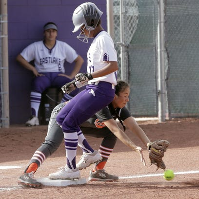El Paso high school baseball, softball all-district and scores