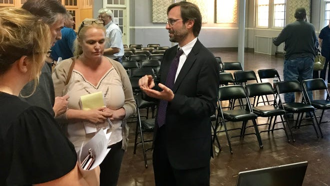 Residents balked at proposed restrictions in the city's short-term limit ordinance, but city officials, like Jesse Mayshark, director of communication to Mayor Madeline Rogero, say they are trying to protect affordable housing.