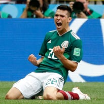 Sunday's World Cup: Mexico stuns defending champ Germany