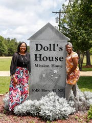 Regana Wells, right, and Stephanie Turner, at Doll's House, Turner's halfway home for women in need, where Wells finally found recovery after 40 years of addiction.