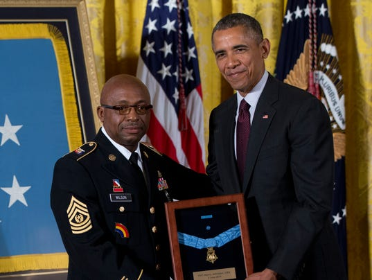 Barack Obama, Louis Wilson