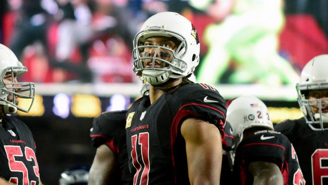 Cardinals wide receiver Larry Fitzgerald has a contract extension with Arizona, but what does it mean?