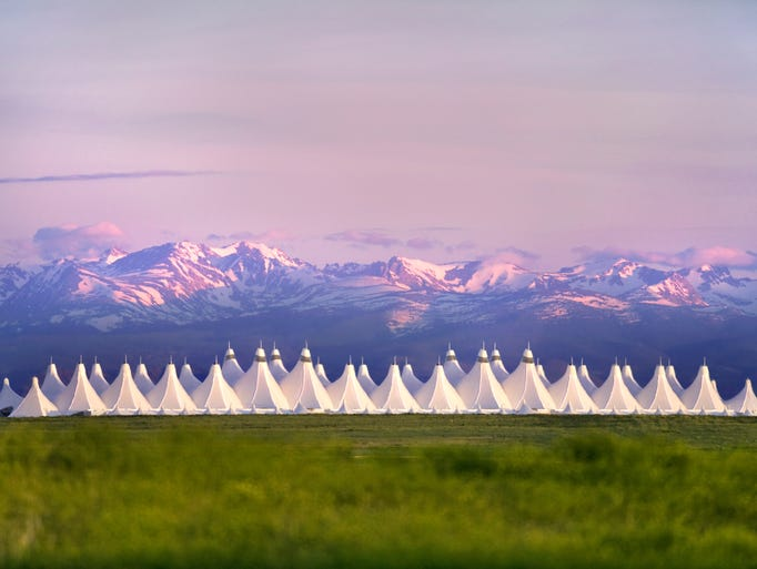 Denver International Airport: Inspired by the majestic