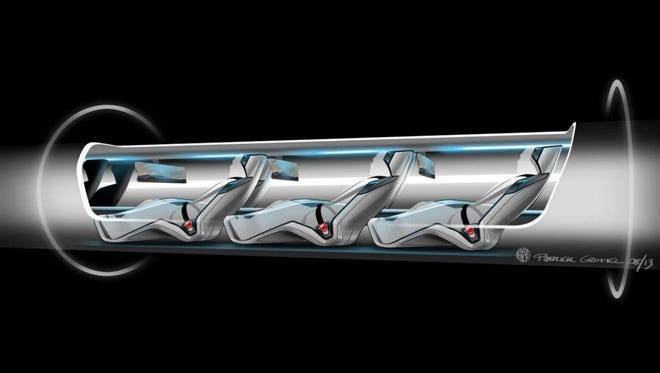 Elon Musk's SpaceX was the first to propose the notion of transporting people and cargo at speeds of 700 mph, a tech dubbed hyperloop.