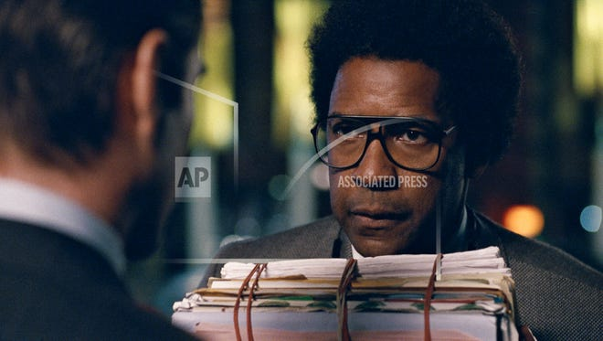"""This image released by Sony Pictures shows Denzel Washington in a scene from """"Roman J. Israel, Esq."""" (Sony Pictures via AP)"""