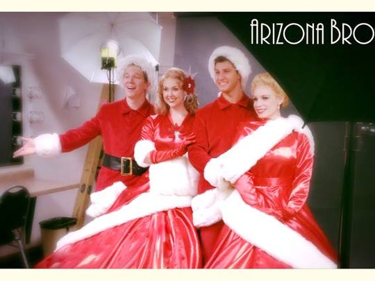 """The Arizona Broadway Theatre is mounting a month-long run of Irving Berlin's """"White Christmas."""""""